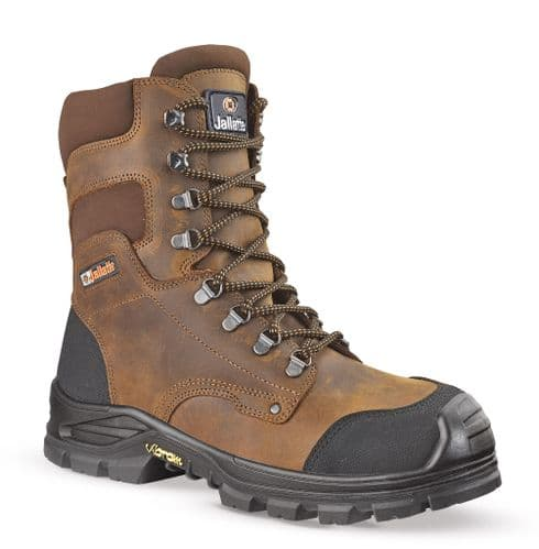 Jallatte Jalhickory S3 Brown Vibram Lace Up Safety Boots